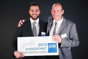 Florian Schneider (links) und Jan Espenlaub